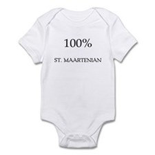 100% St. Maartenian Infant Bodysuit