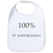 100% St. Barthelemian Bib