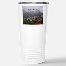 St. Lucia Fog Stainless Steel Travel Mug