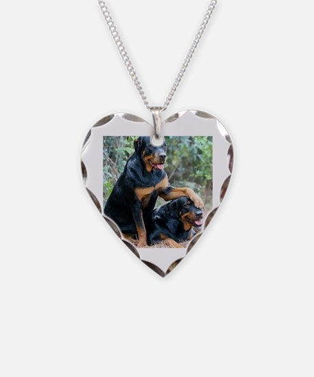 Cute Rottweilers Necklace