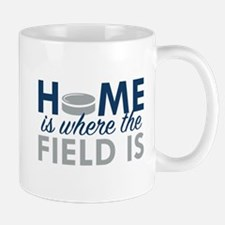Home Is Where The Field Is Mug