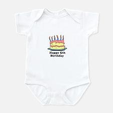 Happy 5th Birthday Infant Bodysuit