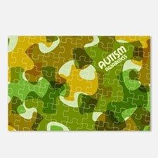 Autism Awareness Puzzles Postcards (Package of 8)