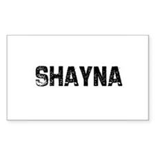 Shayna Rectangle Decal