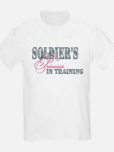 Soldier's Princess in Trainin T-Shirt