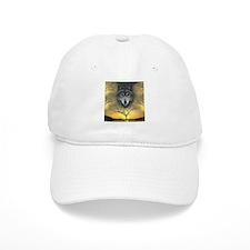 Wolf ~ 'Shaman's Dream' Baseball Baseball Cap