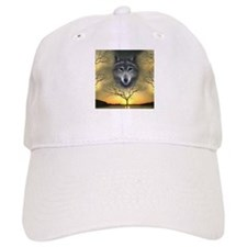 Wolf ~ 'Shaman's Dream' Baseball Cap