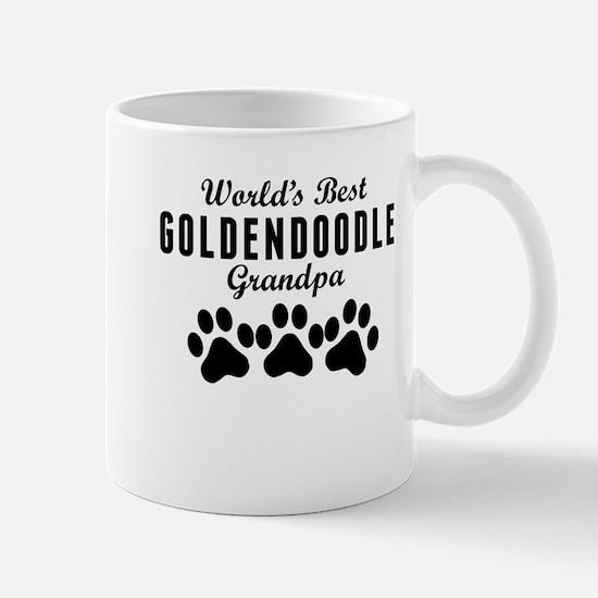 World's Best Goldendoodle Grandpa Mugs