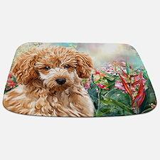 Poodle Painting Bathmat