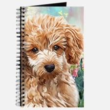 Poodle Painting Journal