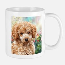 Poodle Painting Mugs