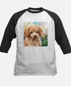 Poodle Painting Baseball Jersey