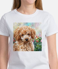 Poodle Painting T-Shirt
