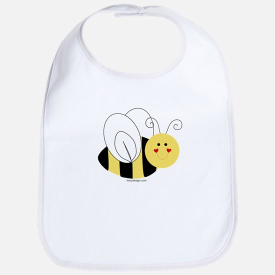 Cute Bee Baby Bib