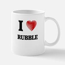 I Love Rubble Mugs