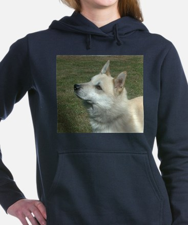 norwegian buhund Women's Hooded Sweatshirt