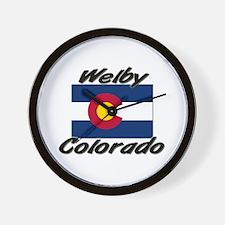 Welby Colorado Wall Clock
