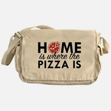 Home Is Where The Pizza Is Messenger Bag