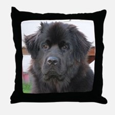 newfie 2 Throw Pillow