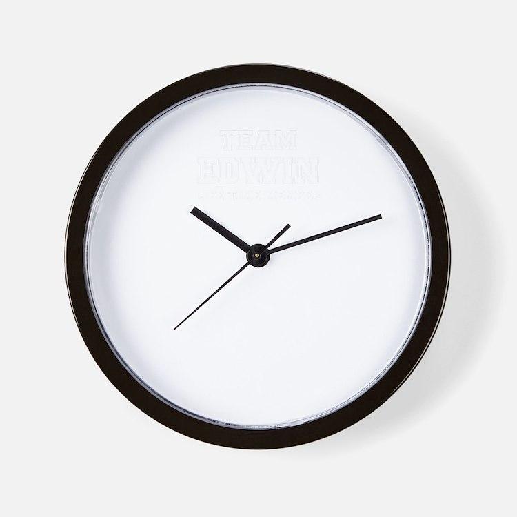 Team EDWIN, life time member Wall Clock