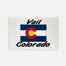 Vail Colorado Rectangle Magnet