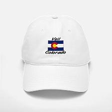Vail Colorado Baseball Baseball Cap
