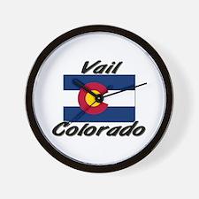 Vail Colorado Wall Clock