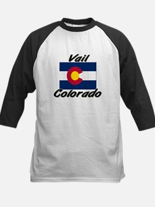Vail Colorado Kids Baseball Jersey