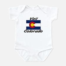 Vail Colorado Infant Bodysuit