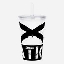 crossed knives nation Acrylic Double-wall Tumbler