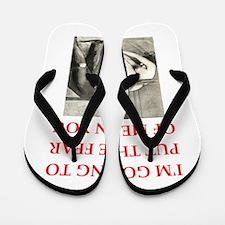 spanking joke Flip Flops