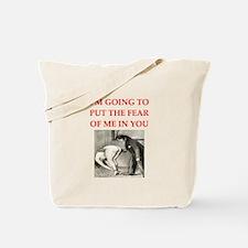 spanking joke Tote Bag
