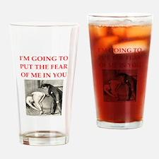spanking joke Drinking Glass