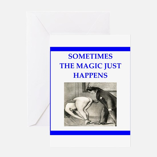 spanking joke Greeting Cards
