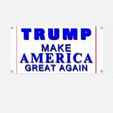 Trump Yard Sign Banner