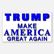 Trump Yard Sign Decal