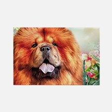 Chow Chow Painting Magnets