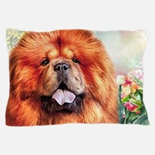 Chow Chow Painting Pillow Case