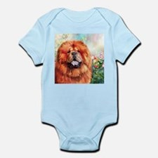 Chow Chow Painting Body Suit