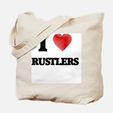 I Love Rustlers Tote Bag