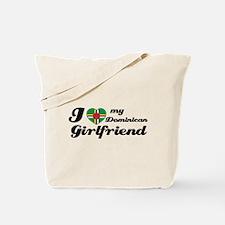 I love my Dominican Girlfriend Tote Bag