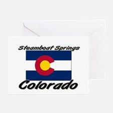 Steamboat Springs Colorado Greeting Cards (Pk of 1