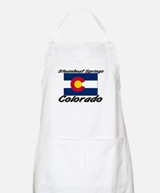 Steamboat Springs Colorado BBQ Apron