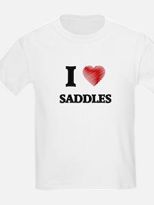 I Love Saddles T-Shirt