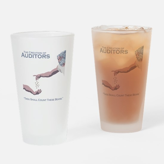 The Creation of Auditors Drinking Glass