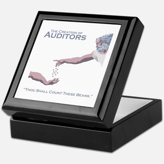 The Creation of Auditors Keepsake Box