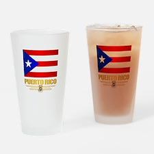 Puerto Rico Drinking Glass