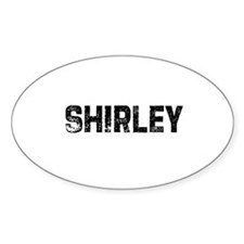 Shirley Oval Decal