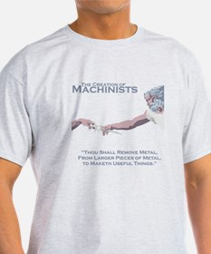 The Creation of Machinists T-Shirt