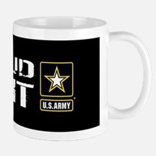 U.S. Army: Proud Aunt (Black) Mug